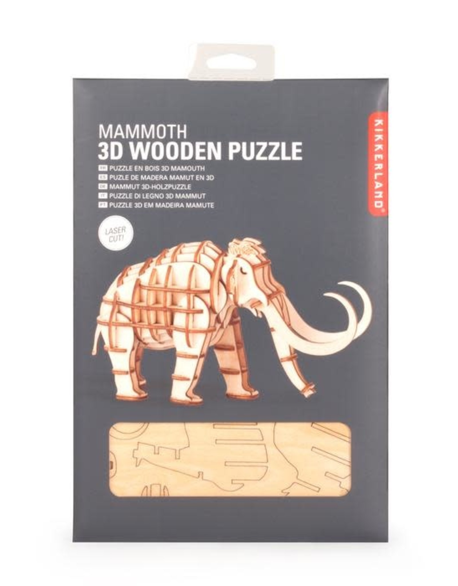Kikkerland 3D Puzzle Mammoth