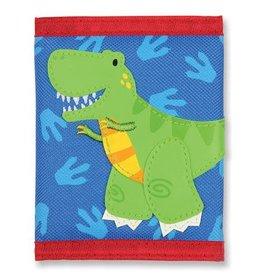 Stephen Joseph Wallet Blue Red Green Dino