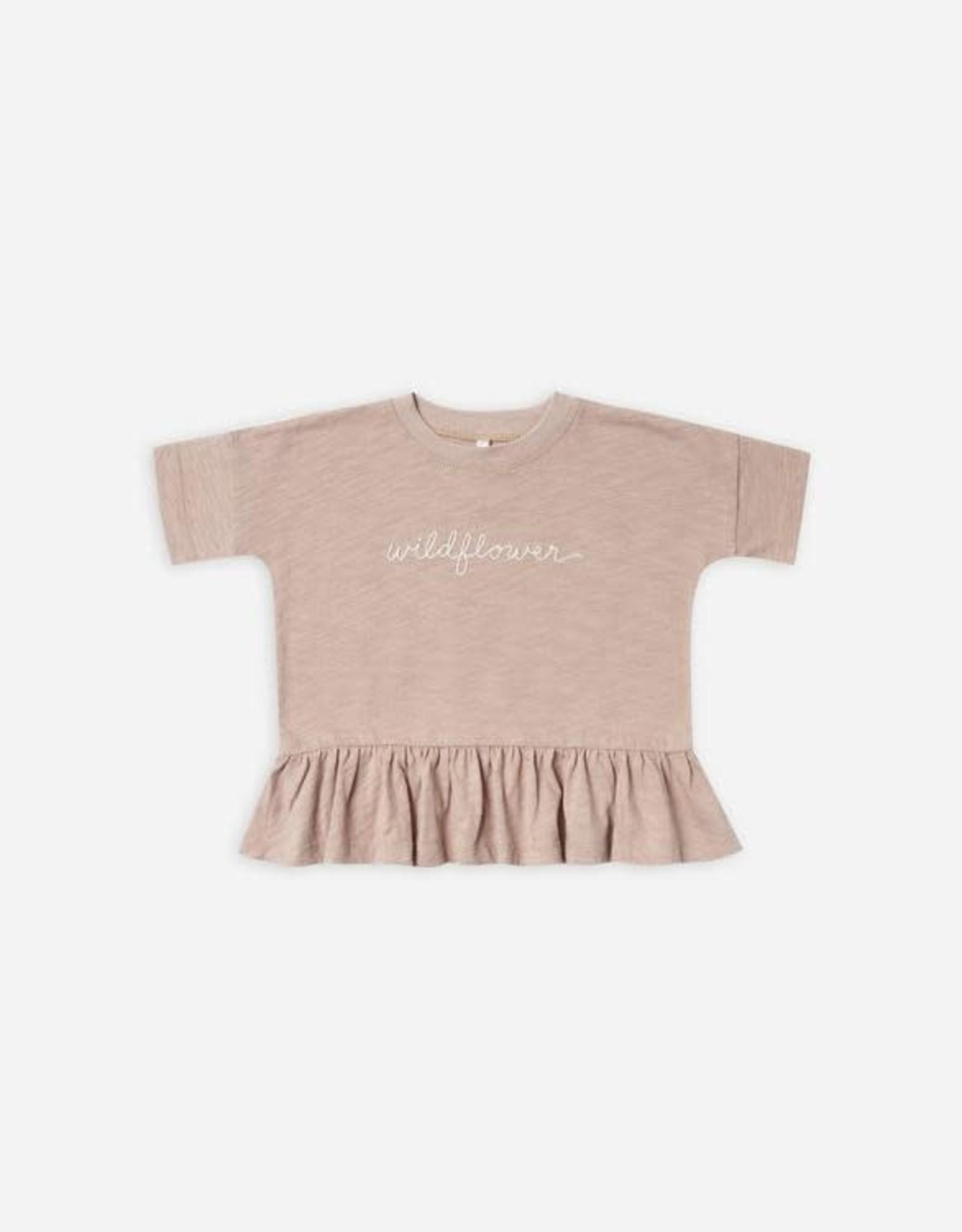 Rylee + Cru Wildflower Peplum Shirt