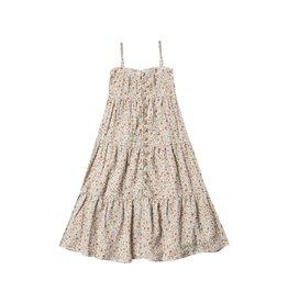 Rylee + Cru Flower Field Tiered Maxi Dress