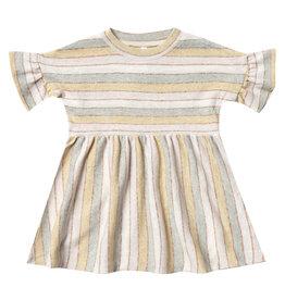 Rylee + Cru Stripe Babydoll Dress