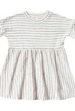Rylee + Cru Stripe Babydoll Dress Sea