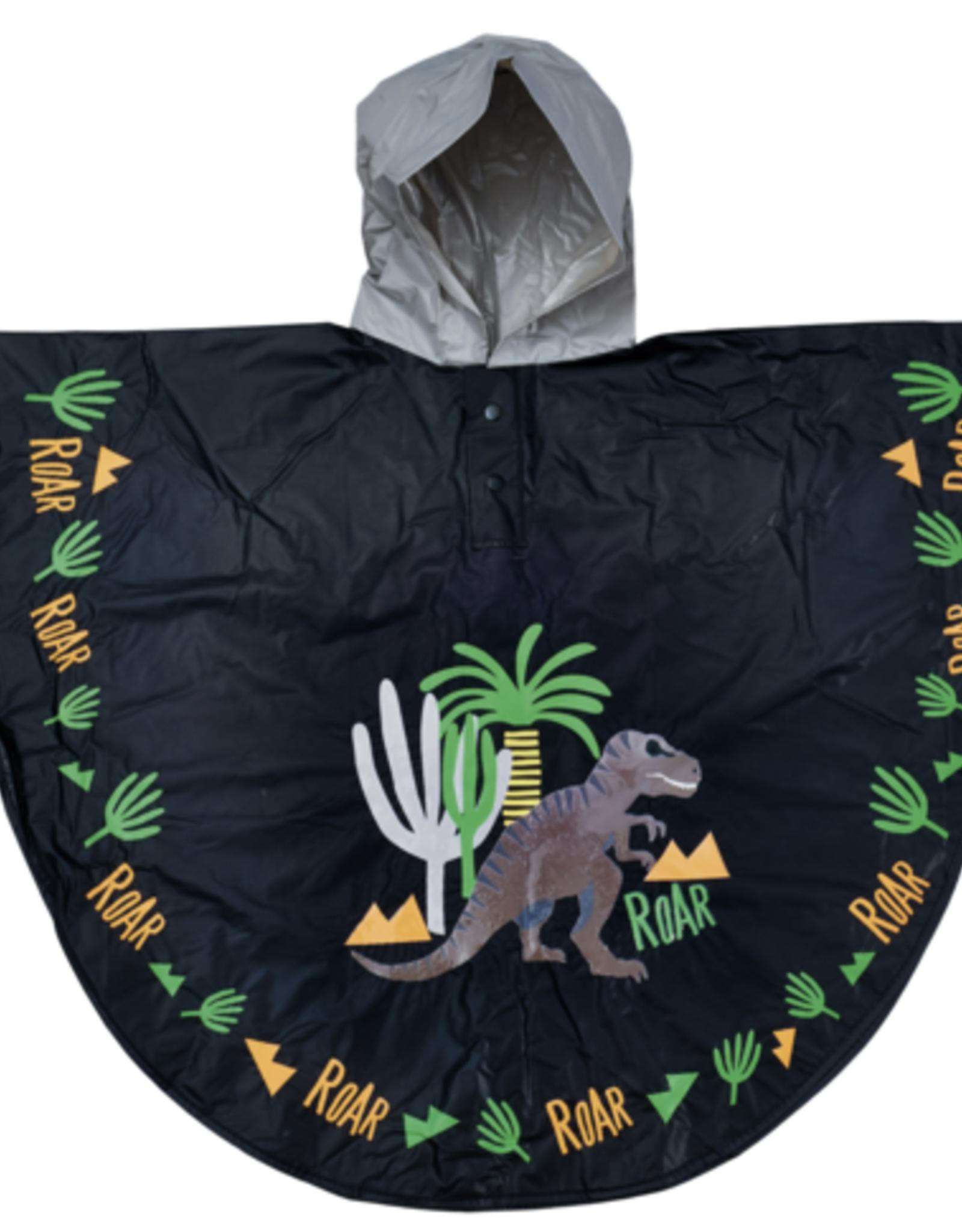 Floss & Rock Poncho Dinosaur