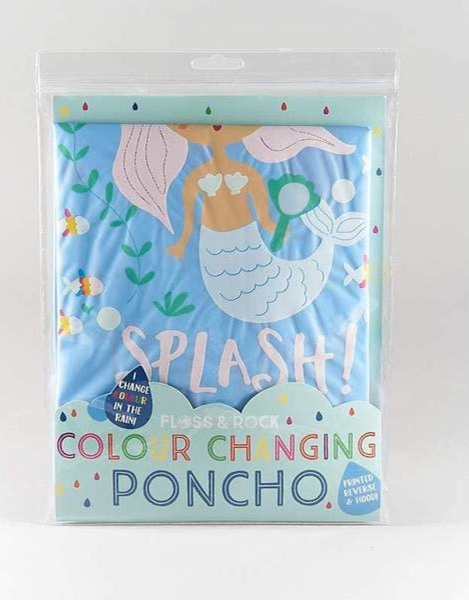 Floss & Rock Poncho Mermaid