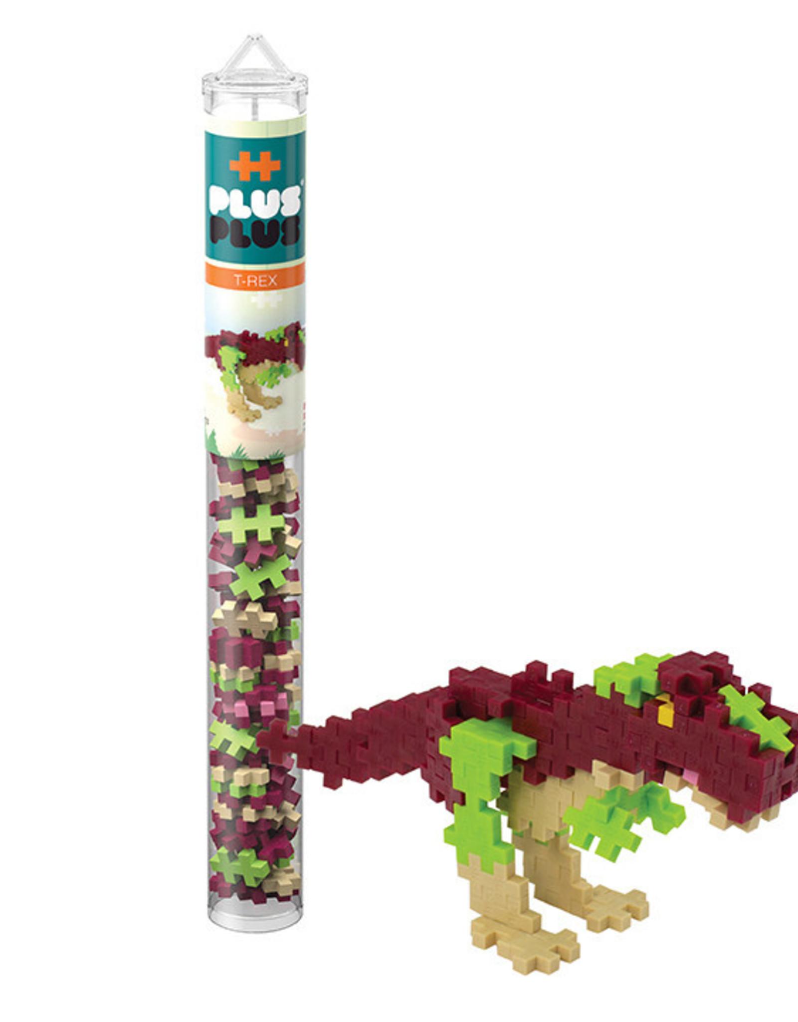 Plus-Plus Tube 70 pcs T-Rex small Green