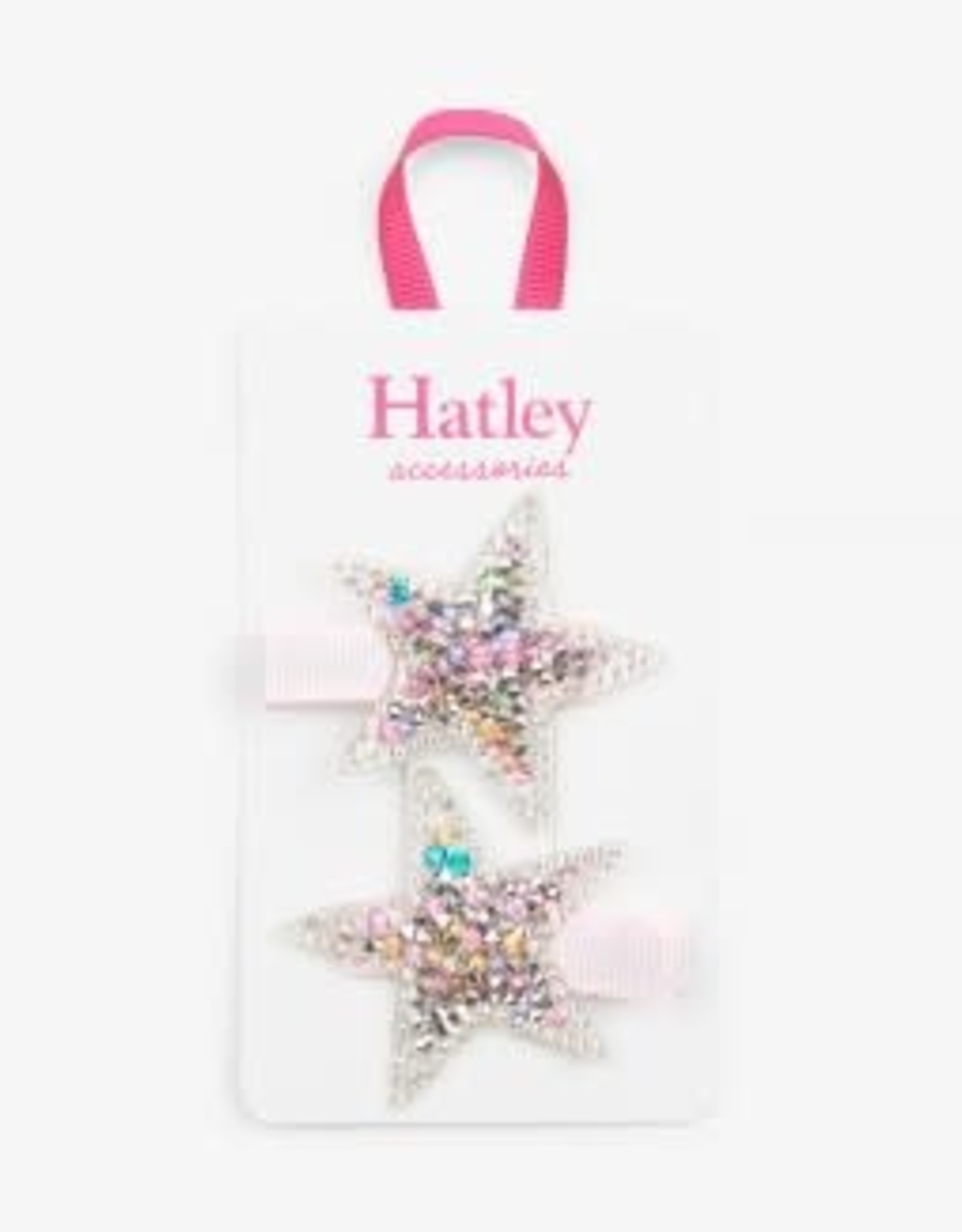 Hatley Twinkle Stars Hair Clips (set of 2)