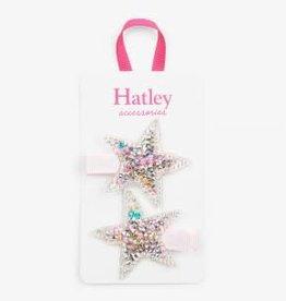 Hatley Twinkle Stars Hair Clips (set of 2)