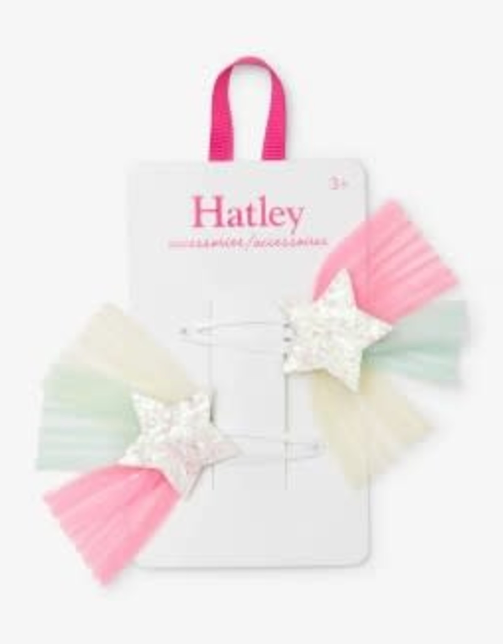 Hatley Tulle Starburst Snap Clips (set of 2)