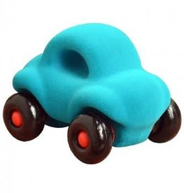 Rubbabu Little Vehicle Turquoise Car