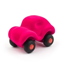 Rubbabu Little Vehicle Pink Car