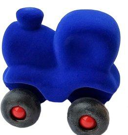 Rubbabu Little Vehicle Blue Train