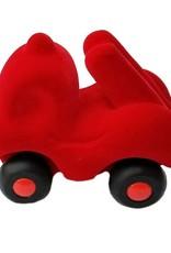 Rubbabu Little Vehicle Red Fire Truck
