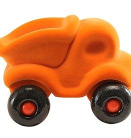 Rubbabu Little Vehicle Orange Dump Truck