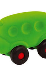 Rubbabu Little Vehicle Green Bus