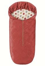 Maileg Mini Sleeping Bag, red