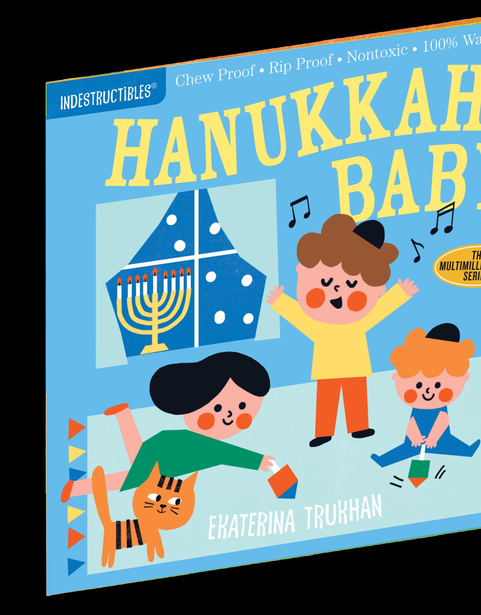 Workman Indestructibles Book Hanukkah Baby