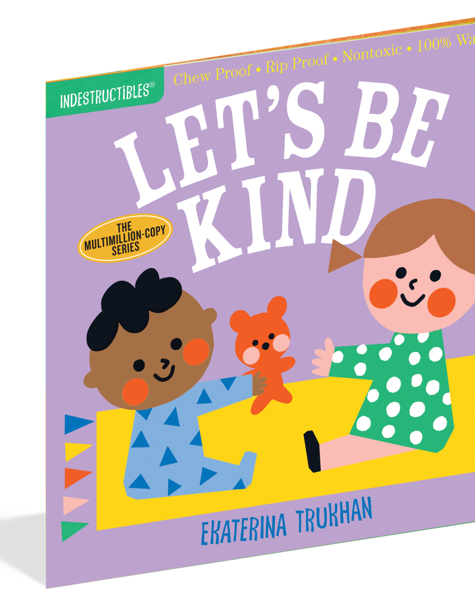 Workman Indestructibles Book Let's Be Kind
