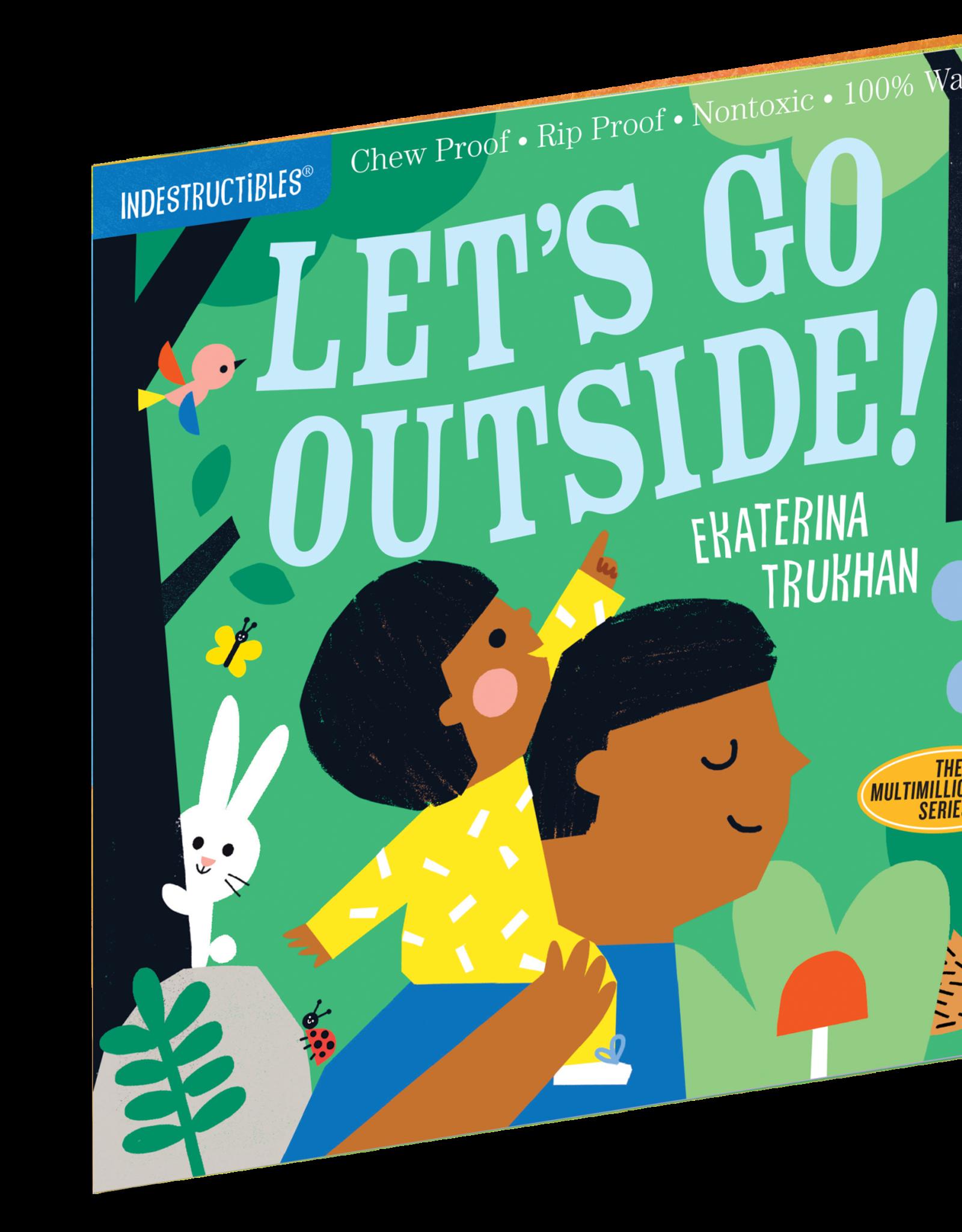 Workman Indestructibles Book Let's Go Outside