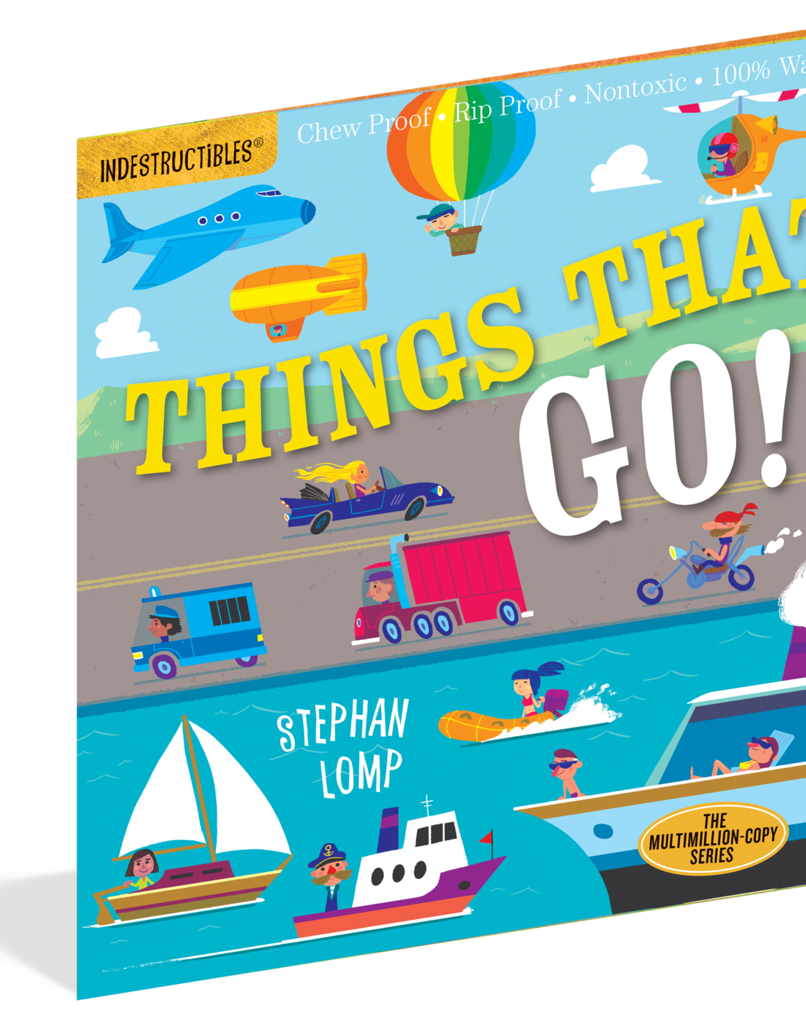 Workman Indestructibles Book Things That Go