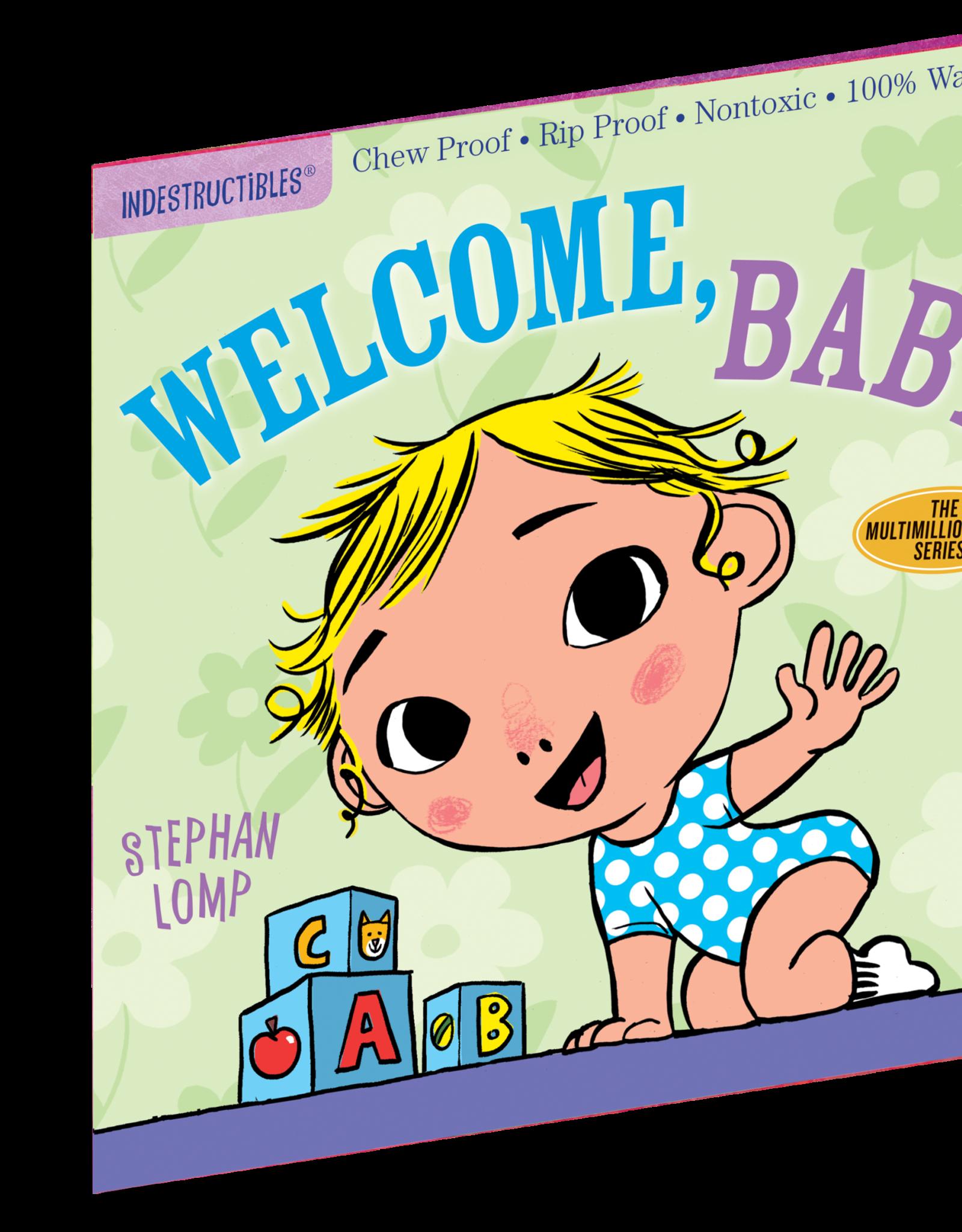 Workman Indestructibles Book Welcome Baby