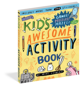 Workman Kids' Awesome Activity Book