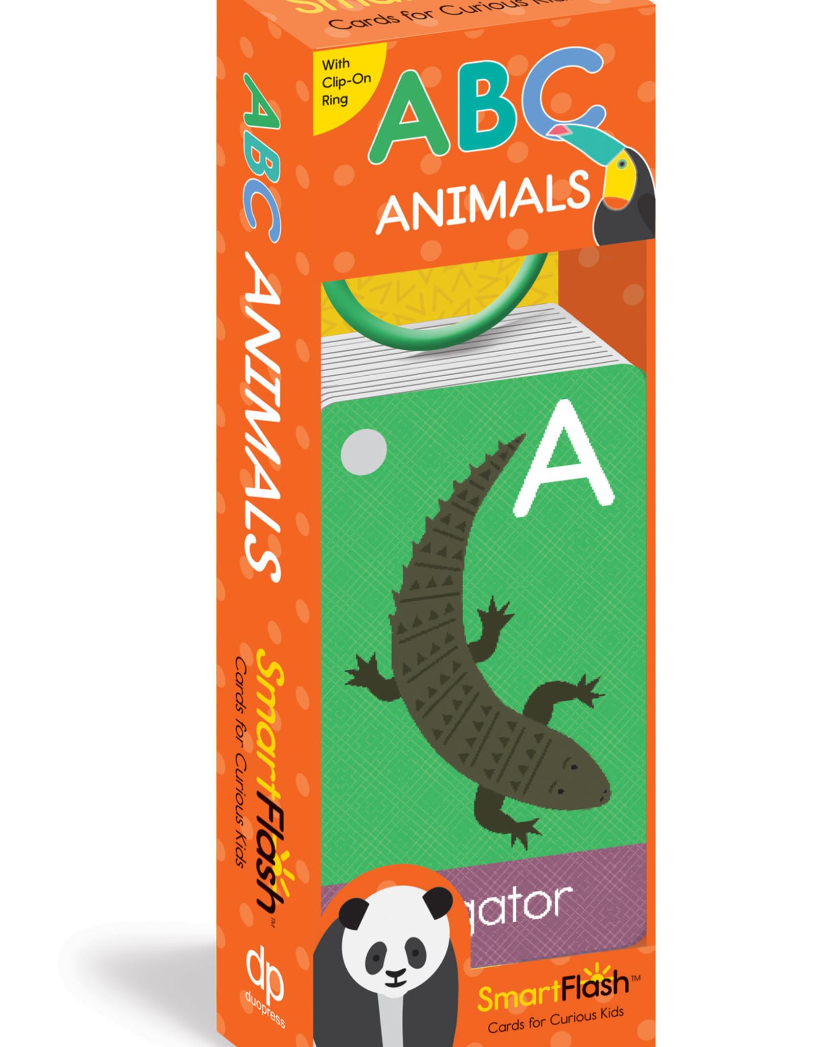 Duo Press Books Smart Flash ABC Animals