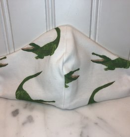 Jennifer Ann Cotton Mask - Youth Alligators 7-13 Years