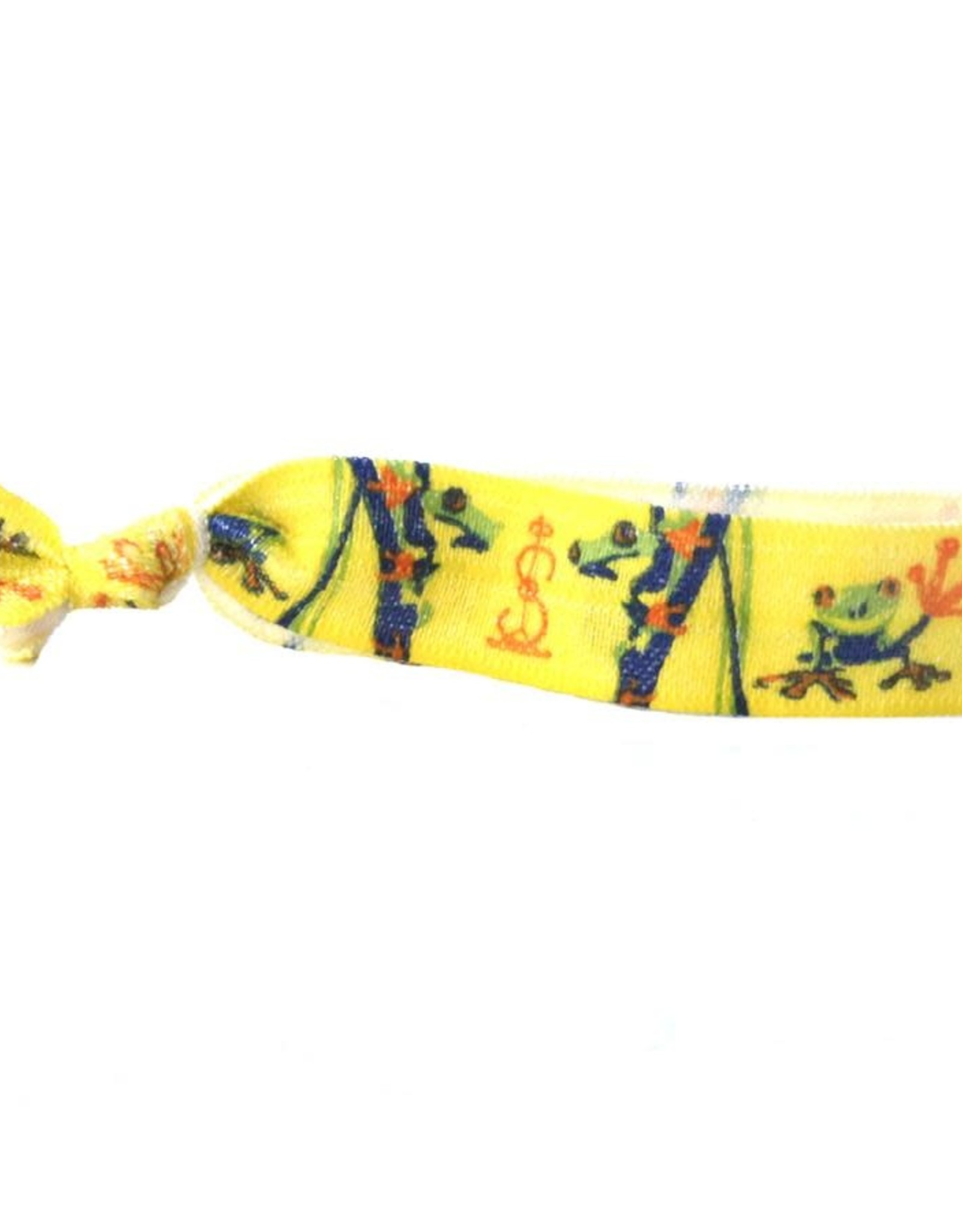 Simbi Hair Tie Frog Yellow