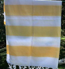 Turkish Towel - Yellow Stripe