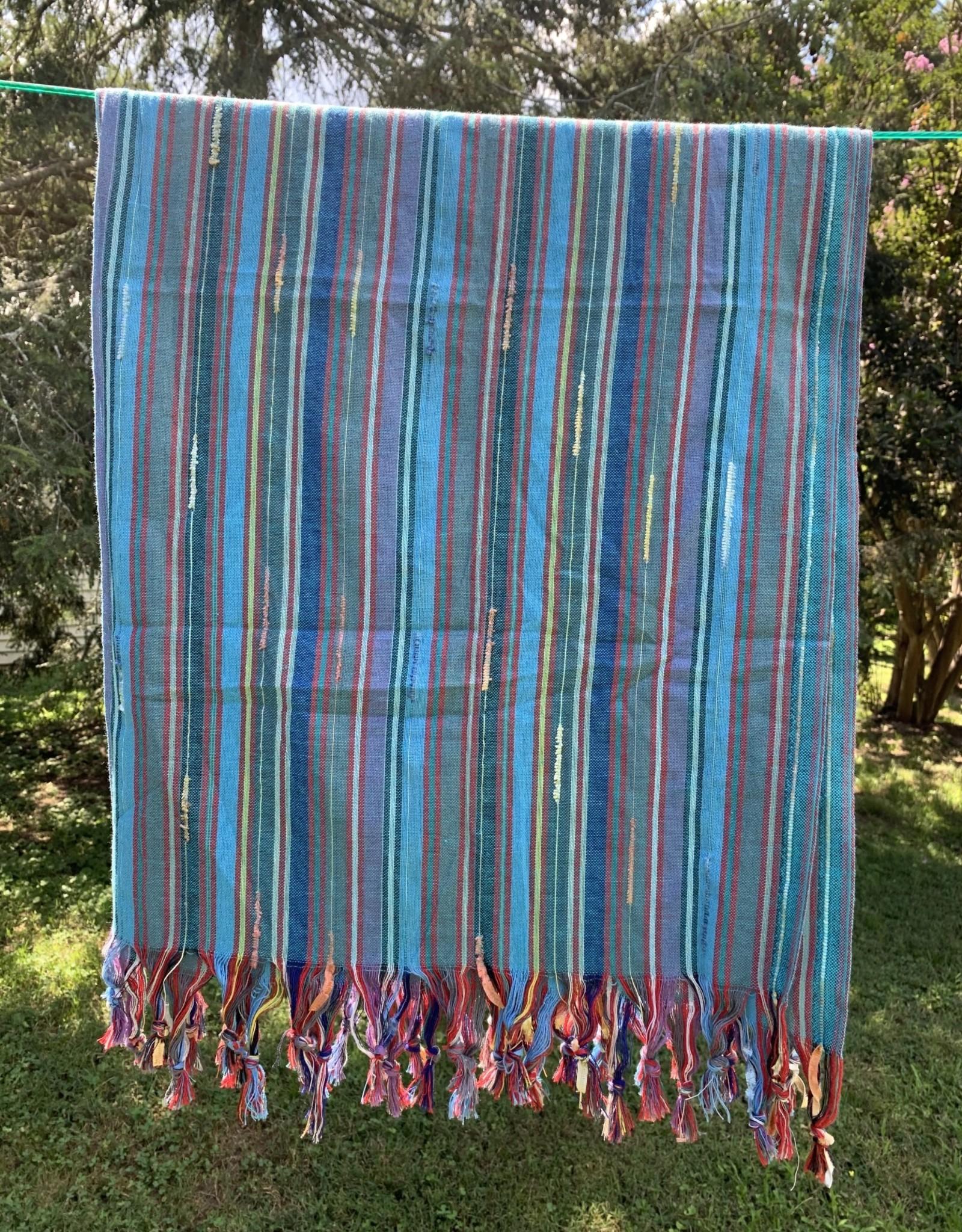 Turkish Towel - Big Rainbow Stripe - E