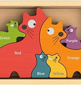 Begin Again Cat Family Puzzle