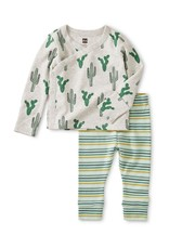 Tea Wrap Top Baby Outfit