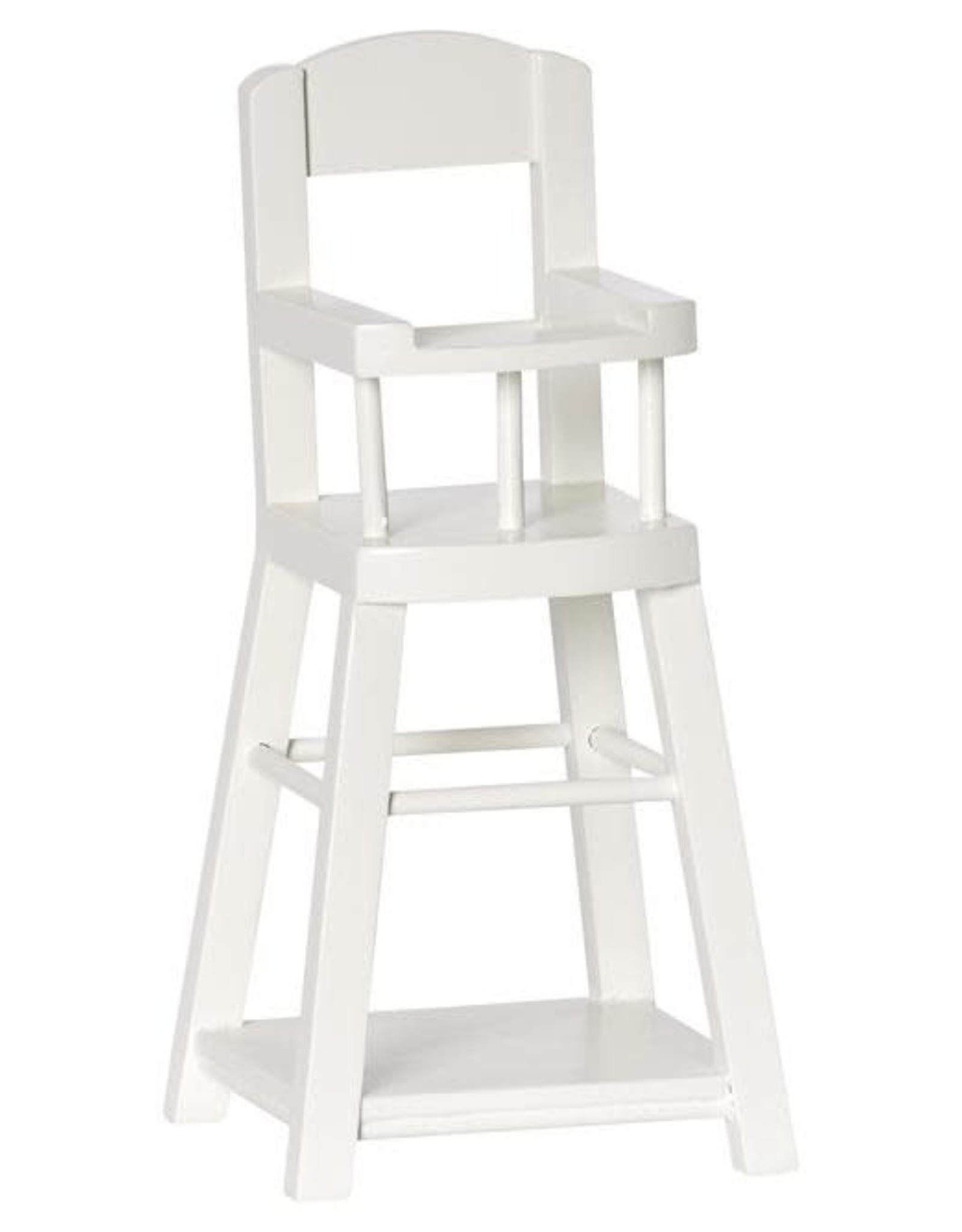 Maileg Micro Highchair, cream