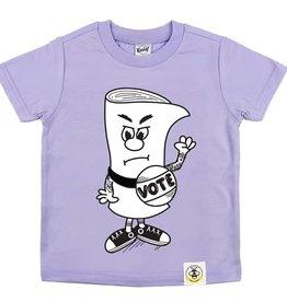 Wire & Honey Vote Tee Shirt, SS