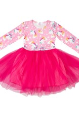Mila & Rose Rainbow Star Tutu Dress