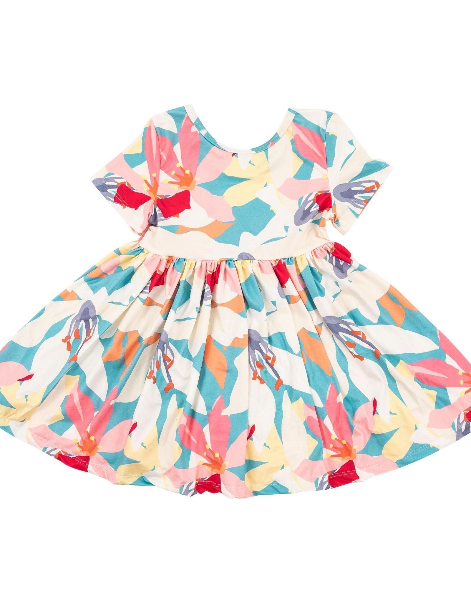 Mila & Rose Little Lilies Twirl Dress, SS