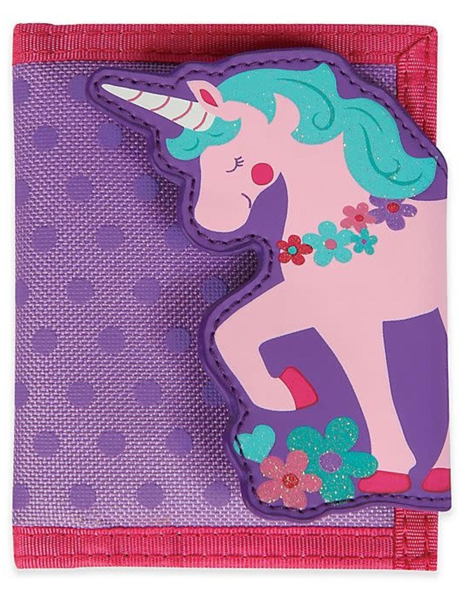 Stephen Joseph Wallet Pink Purple Unicorn