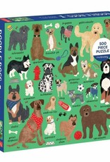 Mudpuppy Doodle Dogs Puzzle, 500 pc
