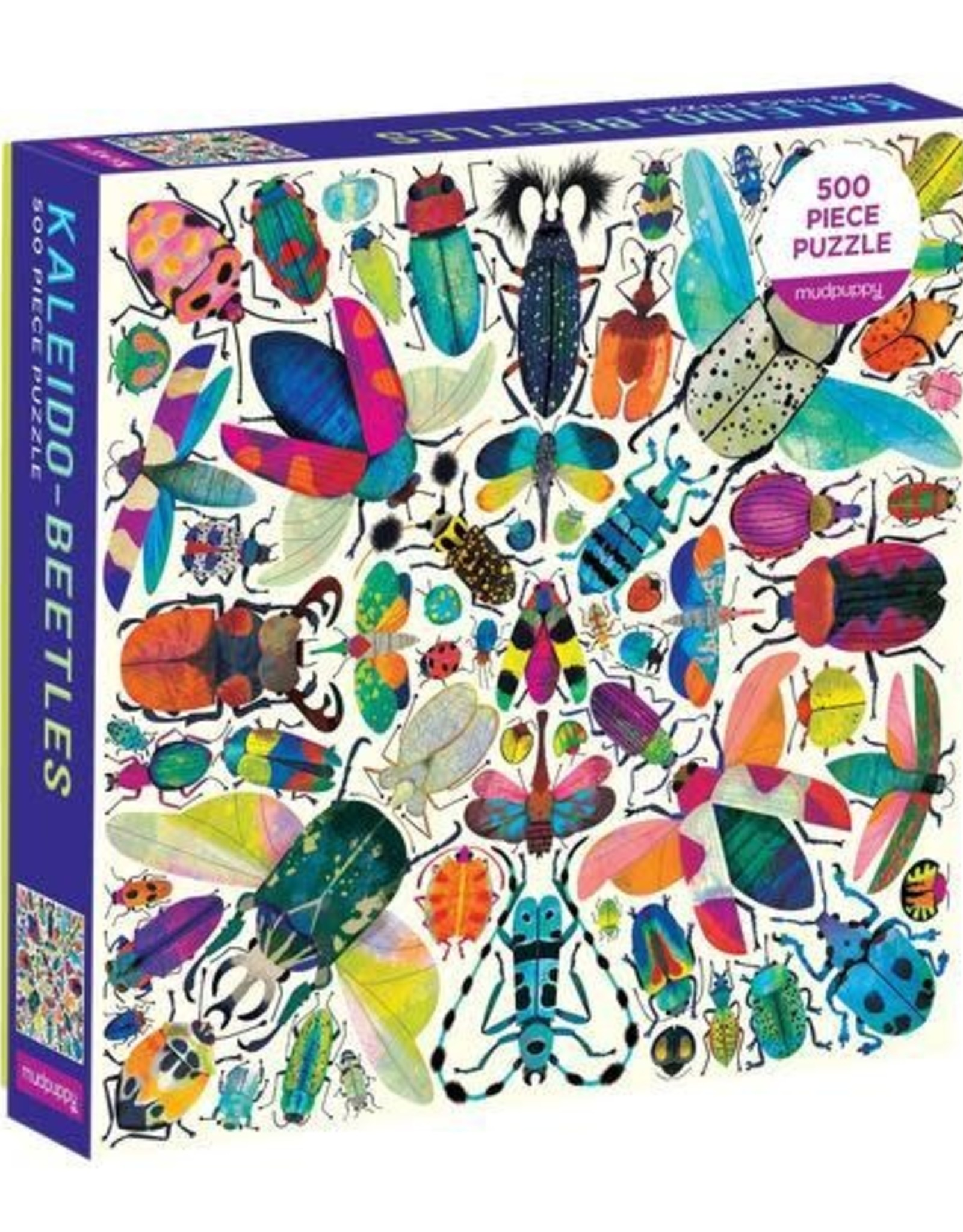Mudpuppy Kaleido Beetle 500 pc Puzzle