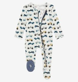 Posh Peanut Footie Enzo Zippered One Piece
