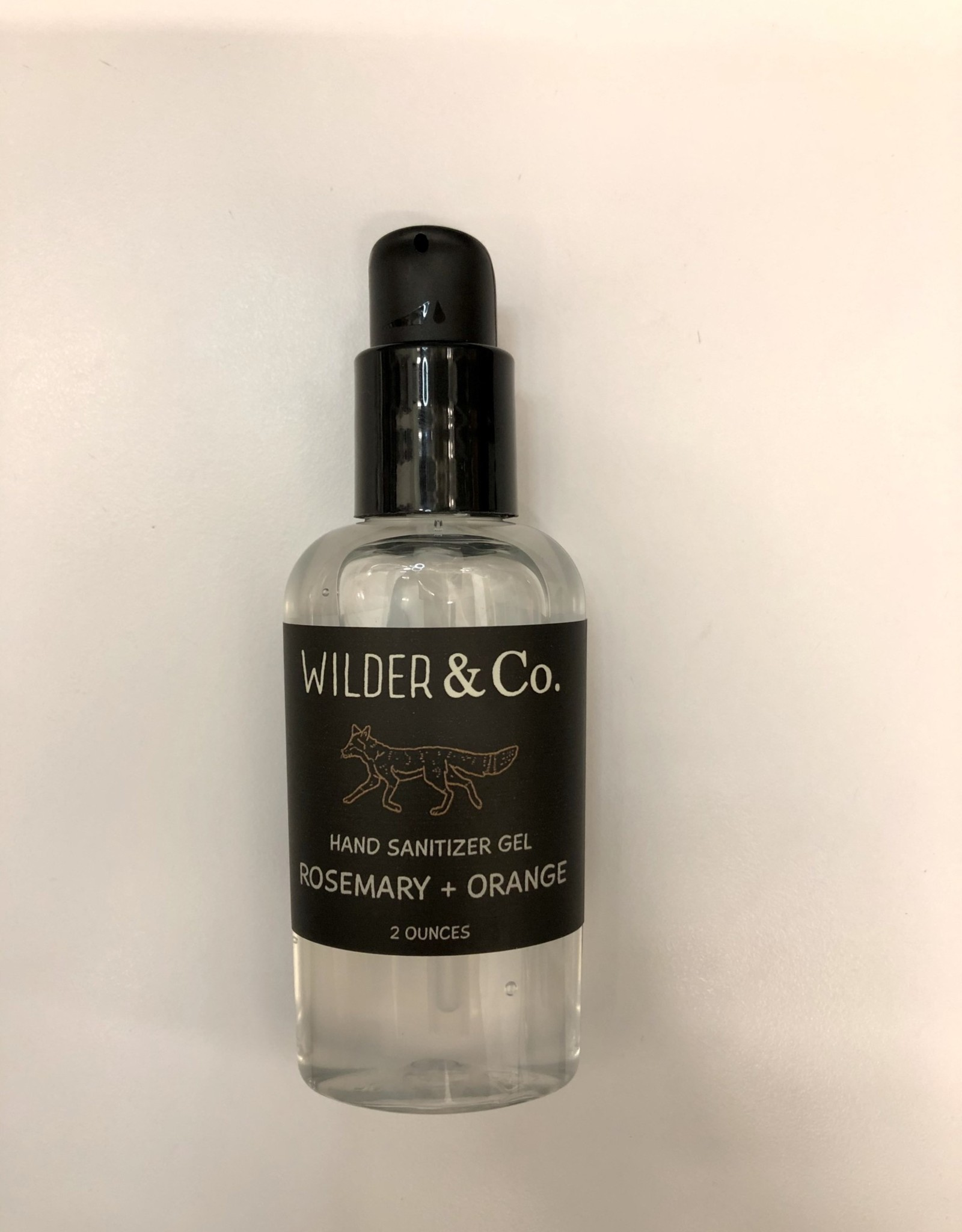 Wilder & Co Hand Sanitizer Rosemary + Orange 2 oz