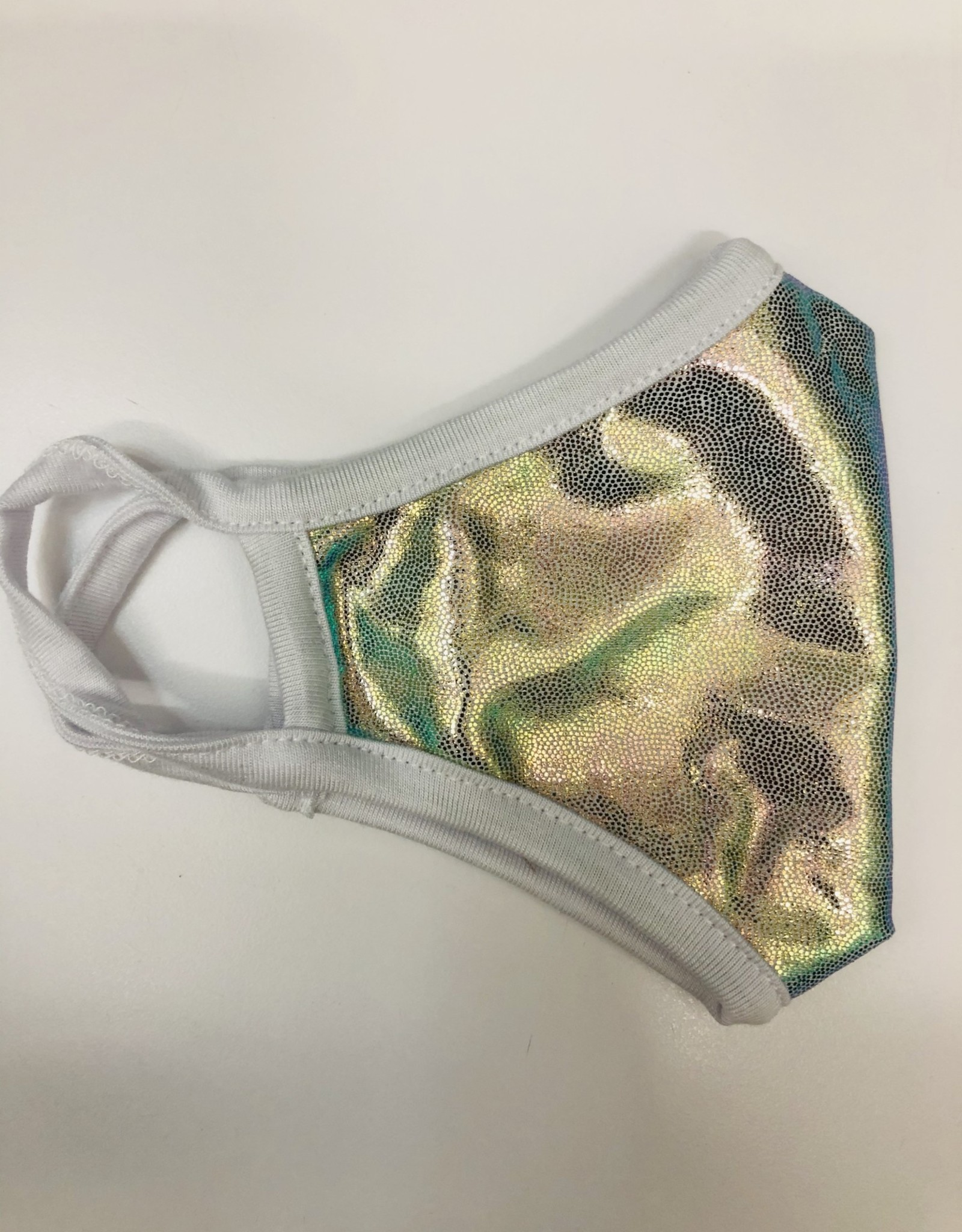 ERGE Face Mask (Child) Holographic Silver