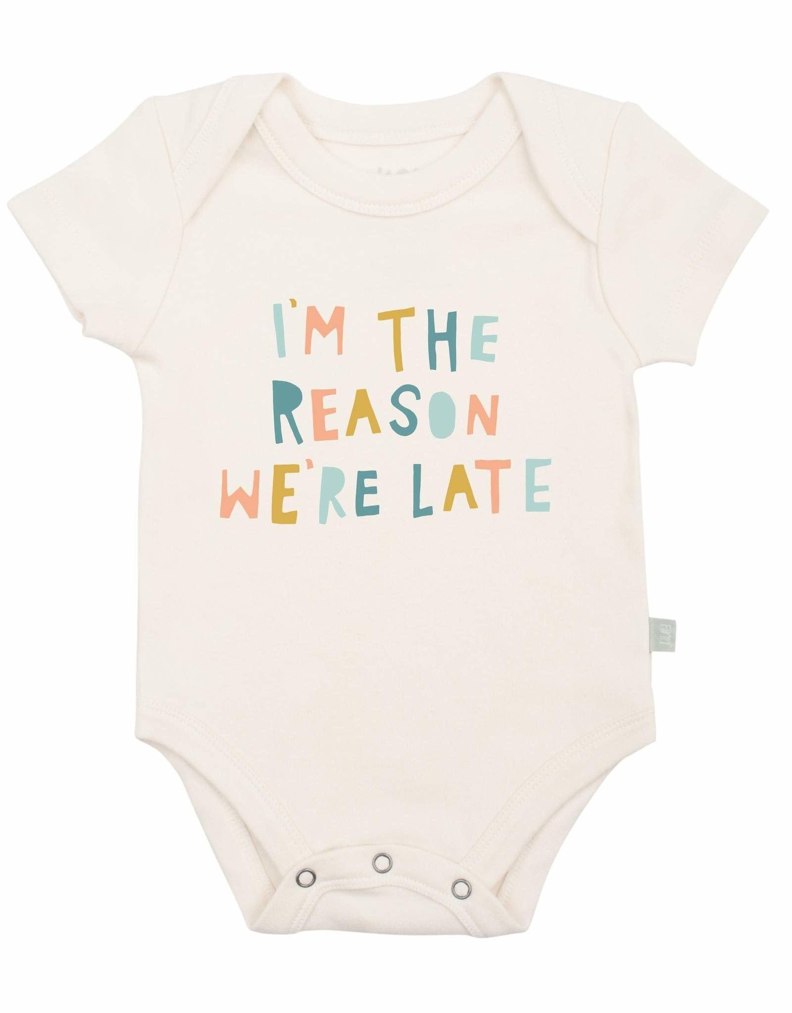 Finn + Emma Graphic Bodysuit, I'm the Reason We're Late
