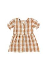 Rylee + Cru Check Jeanette Dress