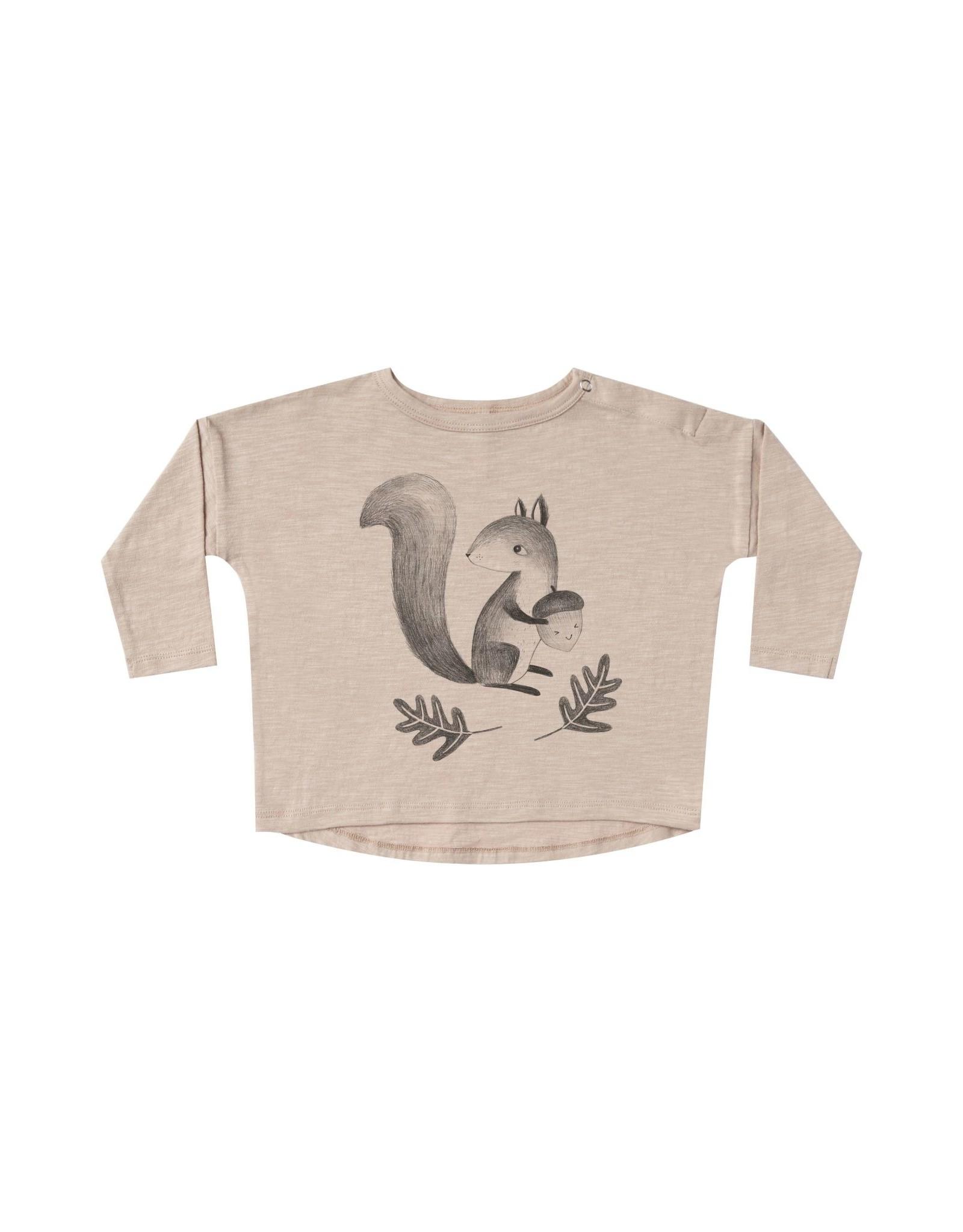 Rylee + Cru Squirrel Long Sleeve Tee