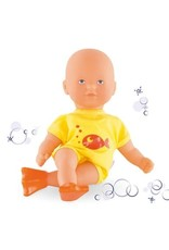 Corolle Mini Bath Doll with Flippers Yellow