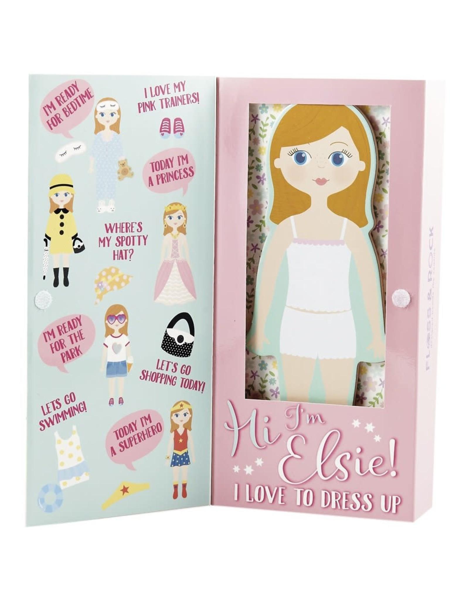 Floss & Rock Magnetic Dress Up Elsie