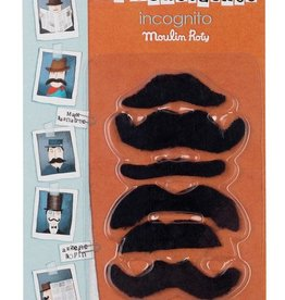 Moulin Roty les moustaches, 6 pieces