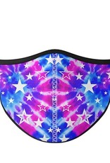 Top Trenz Fashion Face Mask, Large, Galaxy Tie Dye