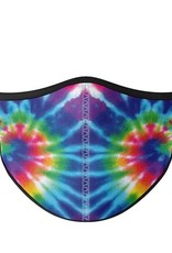 Top Trenz Fashion Face Mask, Large, Primary Tie Dye